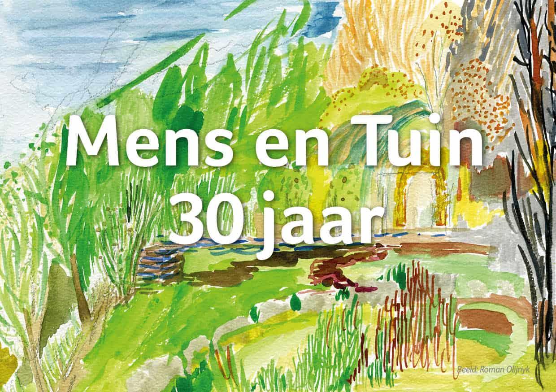 Zaterdag 28 mei jubileumfeest Mens en Tuin
