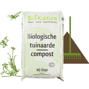 biologische tuinaarde compost